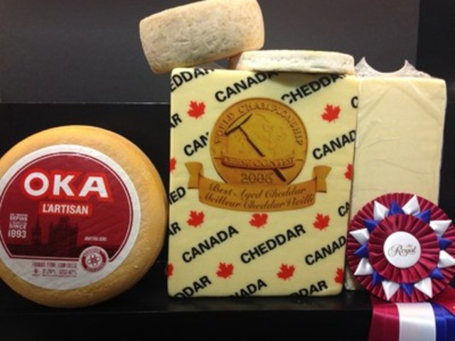 Winners of The Royal Agricultural Winter Fair Cheese Competition (CNW Group/Royal Agricultural Winter Fair)