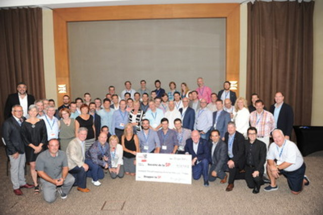 At the 20th RBC Golf Challenge for MS, some 75 golfers met the challenge and raised $353,935 to benefit the Quebec Division of the Multiple Sclerosis Society of Canada. (CNW Group/Multiple Sclerosis Society of Canada)