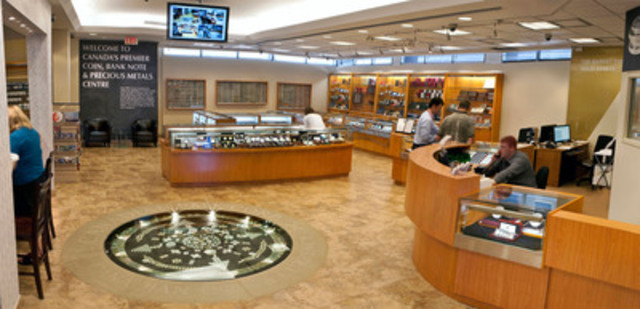The showroom, launching on November 3, 2011 in Richmond Hill, Ontario, features precious metals and a museum quality exhibit of rare coins and bank notes, all available for purchase. (CNW Group/Canadian PMX)
