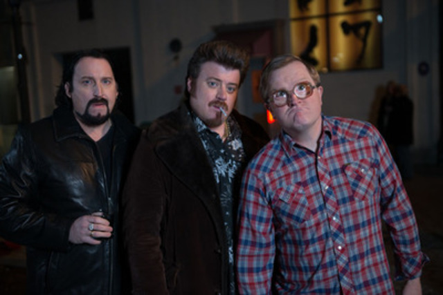 In time for the infamous 4/20 weekend, Ricky, Julian and Bubbles return to theatres across Canada on April 18th in TRAILER PARK BOYS 3: DON'T LEGALIZE IT (CNW Group/Entertainment One)