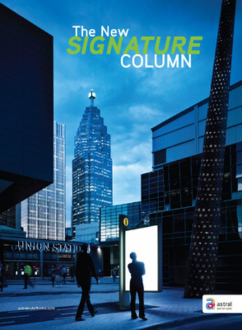 Colonne Signature (Groupe CNW/ASTRAL MEDIA INC.)