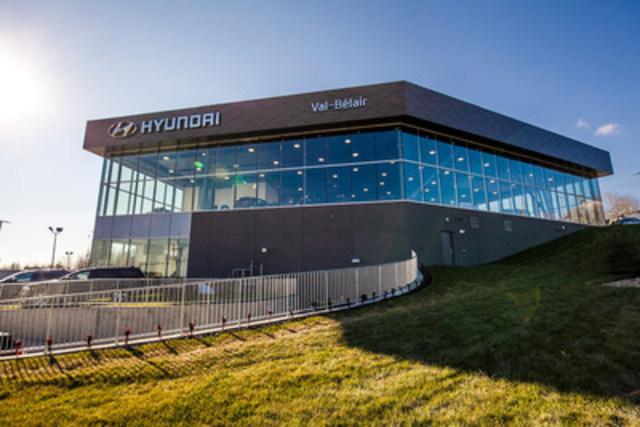 Des concessions Hyundai au Québec et en Alberta ouvrent leurs portes grâce à Google Street View. (Groupe CNW/Hyundai Auto Canada Corp.)