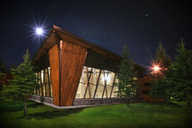 Ontario Wood Award Winner: Centre Inovo Centre, Hearst; Design Build: Strategik Builders - Engineer: Genivar (CNW Group/Ontario Wood WORKS!)