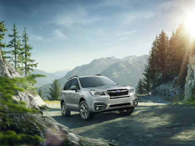 2017 Subaru Forester (CNW Group/Subaru Canada Inc.)