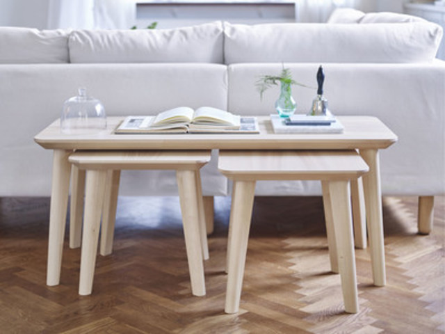 The IKEA LISABO table series Red Dot Award 2016 winner. Available in stores now. (CNW Group/IKEA Canada)