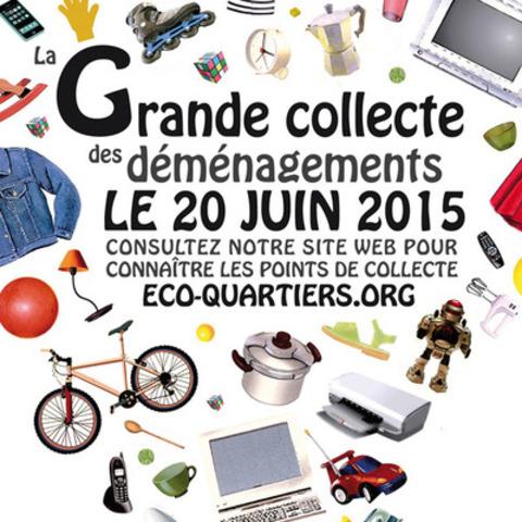 Samedi le 20 juin, participez à la Grande collecte des déménagements !  (Groupe CNW/Regroupement des éco-quartiers)