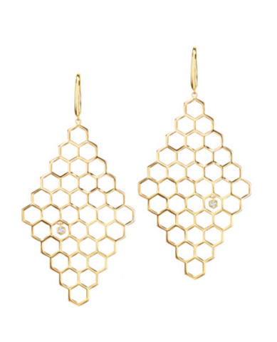 La collection Birks Bee Chic est introduite aujourd'hui alors que le joaillier canadien annonce son soutien à la préservation et la protection des abeilles à miel dans le contexte des célébrations de son 135e anniversaire. (Groupe CNW/Groupe Birks Inc.)