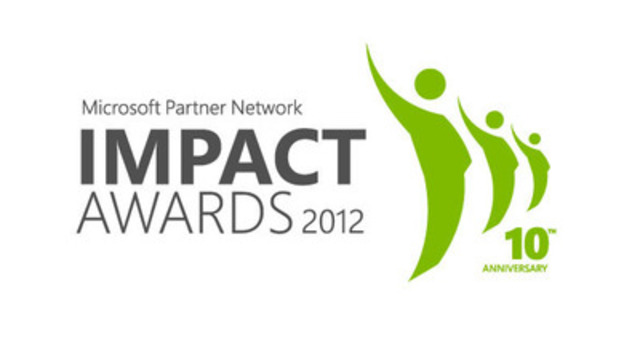 Microsoft Partner Network IMPACT Awards 2012 (CNW Group/Microsoft Partner Network)
