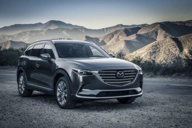 Le tout nouveau CX-9 2016 de Mazda (Groupe CNW/Mazda Canada Inc.)