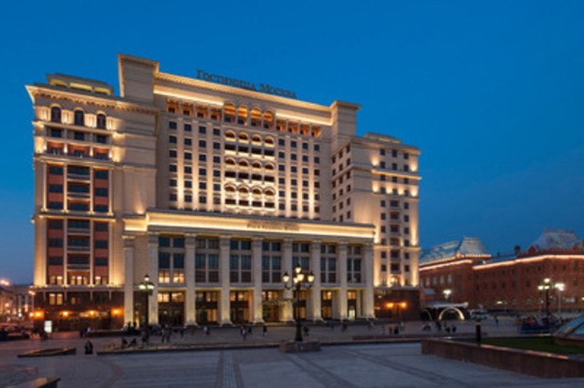 Landmark Hotel Moskva Reborn as Four Seasons Hotel Moscow, the Russian Capital's Premier Luxury Hospitality Address (CNW Group/Four Seasons)