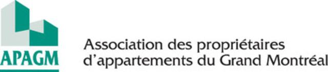 Logo : Association des propriétaires d'appartements du Grand Montréal (APAGM) (Groupe CNW/Association des propriétaires d'appartements du grand Montréal)