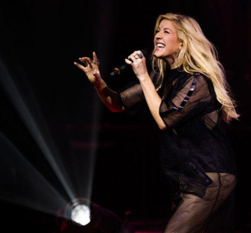 Sept 06/14 - Toronto - Ellie Goulding performs live at Toronto's Massey Hall, September 6, 2014, in a ...