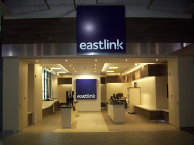 Eastlink's new modern, full connected retail environment. (CNW Group/EASTLINK)
