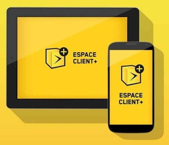 Espace client + (Groupe CNW/Vidéotron)