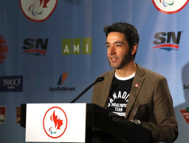 « La visibilité et le soutien que les athlètes d'Équipe Canada recevront grâce au consortium de diffusion paralympique sera une excellente motivation morale pour tous ceux d'entre nous qui concourront à Sotchi, en sachant que les personnes que nous aimons, chez-nous, ainsi que tous les Canadiens, pourront suivre l'action et encourager leur équipe.», dit Brian McKeever, 10 fois médaillé paralympique en ski para-nordique. (Groupe CNW/Comité paralympique canadien (CPC))