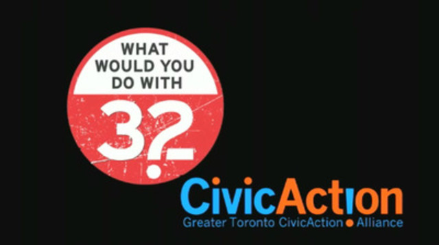 "Greater Toronto and Hamilton Area residents answer a simple question: ""What would you do with 32?"