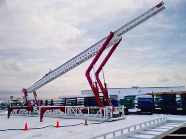 Tesco Corporation Announces Acquisition of Automated Catwalks Technology from Custom Pipe Handlers Canada Inc. (CNW Group/Tesco Corporation)