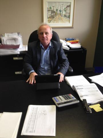 M. André Lachapelle, premier vice-président de l'ACSQ. (Groupe CNW/Association des cadres scolaires du Québec (ACSQ))