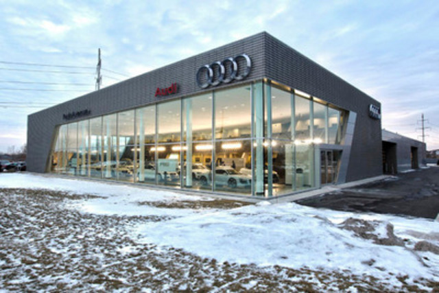 Groupe Park Avenue opens first Audi Terminal in Canada (CNW Group/Audi Canada)