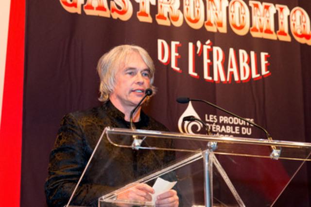 Fédération québécoise des sports cyclistes (FQSC) CEO Louis Barbeau. (CNW Group/Federation of Quebec Maple Syrup Producers)