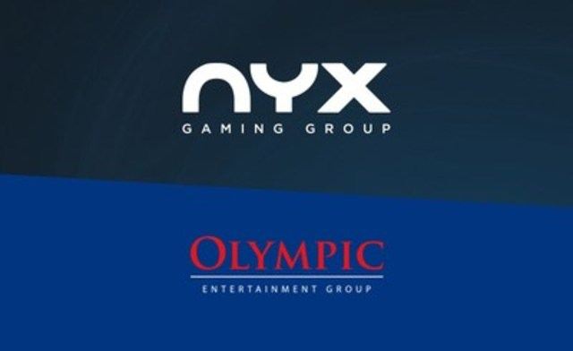 Olympic Entertainment Group (OEG) has selected the NYX Gaming Group platform and content to accelerate their expansion in digital gaming. The license Agreement complements OEG's digital offering for their well-established business in the Baltic States and supports their expansion into new markets world-wide as they regulate. (CNW Group/NYX Gaming Group Limited)