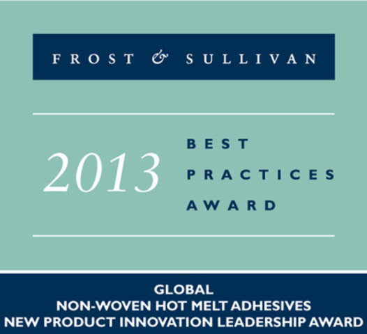 Innovation with Impact. Frost Sullivan recognizes H.B. Fuller with prestigious innovation leadership award for the development and successful commercialization of two nonwoven, next generation, olefin based hot melt adhesive products. (CNW Group/H.B. Fuller Company)