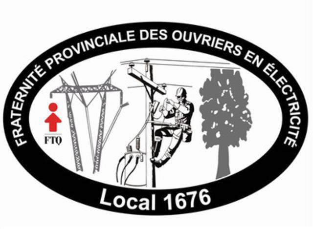 Fraternité Provinciale des Ouvriers en Électricité. (Groupe CNW/F.P.O.E. 1676)