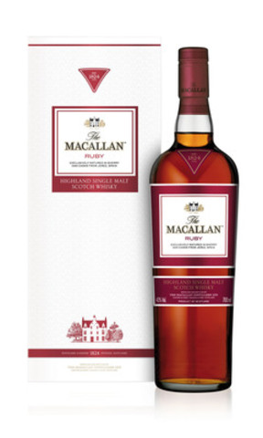 The Macallan - Série 1824 - Ruby (Groupe CNW/BEAM Global Canada Inc.)
