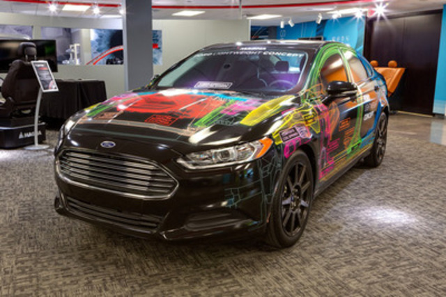 Cnw magna and ford collaborate on multi material for Auto solutions motor company