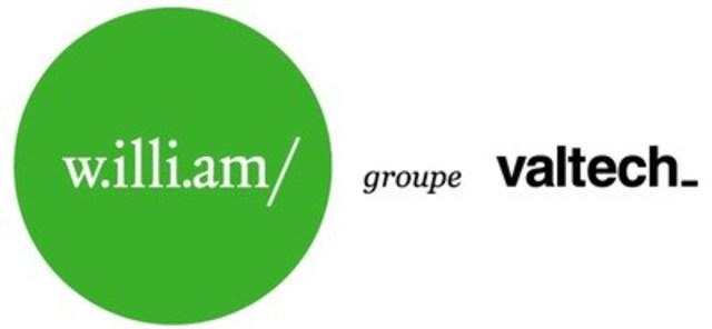 Logo: w.illi.am (CNW Group/w.illi.am/Valtech Group)
