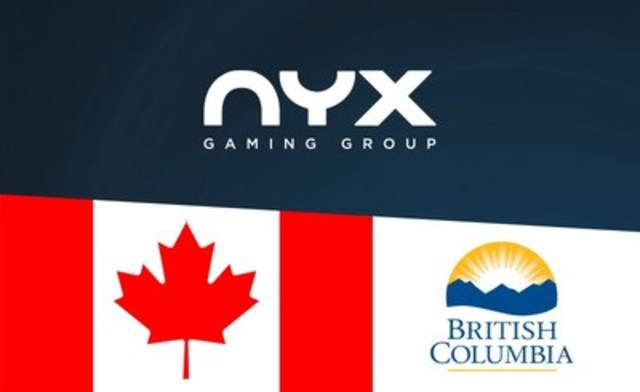 NYX Gaming Group has been approved by the Gaming Policy and Enforcement Branch (GPEB) in British Columbia. NYX is now able to deploy its market-leading content in British Columbia for the first time. (CNW Group/NYX Gaming Group Limited)