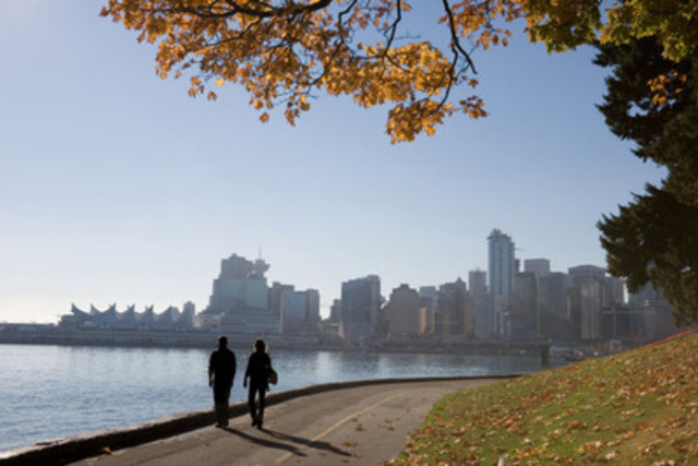 Vancouver remains the third most popular domestic city for Canadian travellers (CNW Group/Hotels.com)