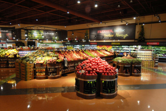Sobeys invites shoppers to visit its first Sobeys extra store - Newly unveiled store in Burlington, Ontario ...