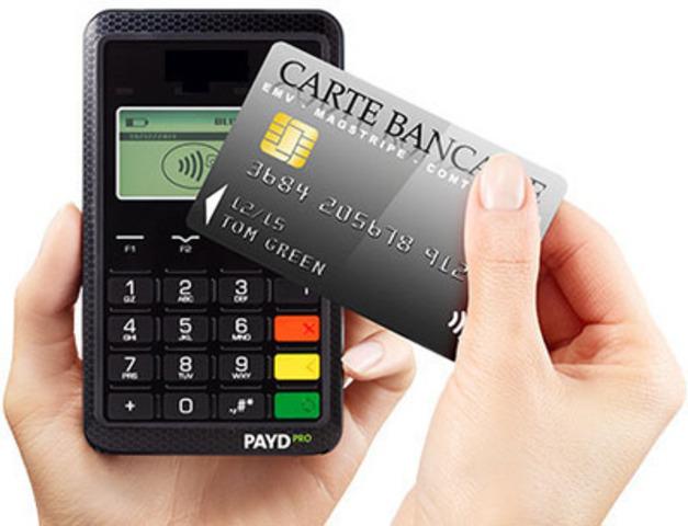 La technologie de paiement sans contact avec carte à puce et NIP conforme à la norme EMV(MD) (Groupe CNW/Moneris Solutions Corporation) (Groupe CNW/Moneris Solutions Corporation)