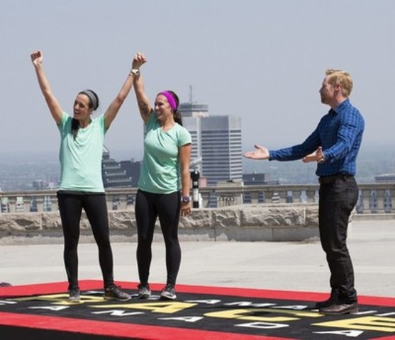 Steph and Kristen are the Season 4 winners of CTV's THE AMAZING RACE CANADA. (CNW Group/CTV)