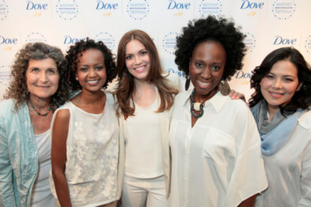 Dove and Mandy Moore host 'Women Who Should be Famous' event to highlight and celebrate strong female role models. Learn more at Facebook.com/dove. (CNW Group/Dove)