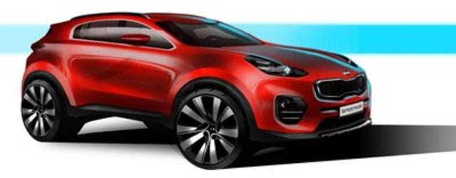 Dynamic energy: The next-generation Kia Sportage (CNW Group/KIA Canada Inc.)