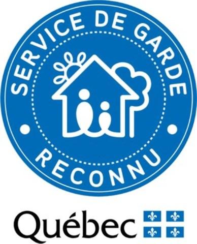 Logo : Service de garde - Reconnu (Groupe CNW/Alliance des intervenantes en milieu familial Suroît)