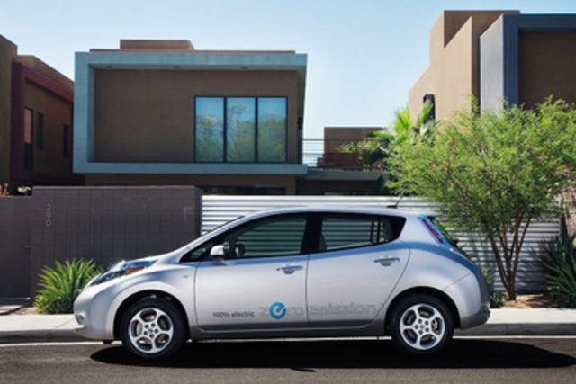 Nissan Canada announces cross-country Drive Electric Tour (CNW Group/Nissan Canada Inc.)