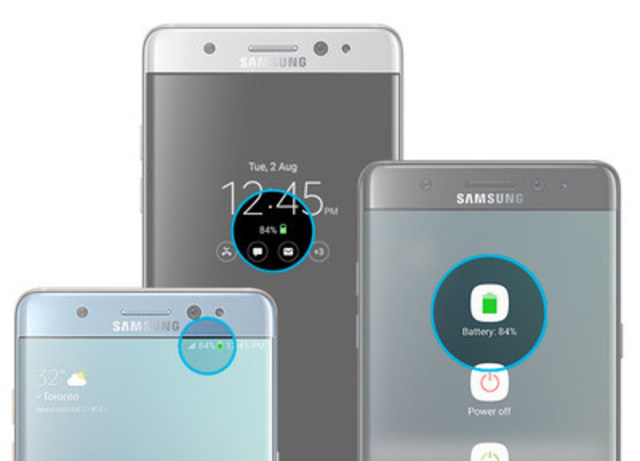 Galaxy Note7 (CNW Group/Samsung Electronics Canada)