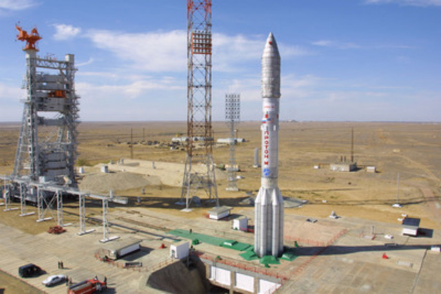 On October 18th, a Proton-M rocket will launch a new 4G satellite to be used by Xplornet. Photo courtesy of International Launch Services (ILS). (CNW Group/Xplornet Communications Inc.)
