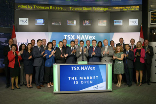 Representatives from the TSX NAVex Working Group joined Nick Thadaney, President & Chief Executive Officer, Global Equity Capital Markets, TMX Group to open the market to announce the launch of Toronto Stock Exchange new centralized mutual fund solution, TSX NAVex, designed to introduce operational and cost efficiencies in the processing of mutual fund transactions. TSX NAVex is a unique platform that brings together TMX Group's integrated equity services, including trading, clearing and settlement services, to address the evolving needs of the mutual fund industry. Developed in consultation with the TSX NAVex Working Group, which is made up of over 30 representatives from leading and emerging Canadian mutual fund manufacturers, TSX participating organizations and industry service providers, TSX NAVex will post actively managed investment funds and facilitate purchases and redemptions through TSX's proven equities infrastructure. For more information please visit http://www.tmx.com/newsroom/press-releases?id=457 (CNW Group/TMX Group Limited)