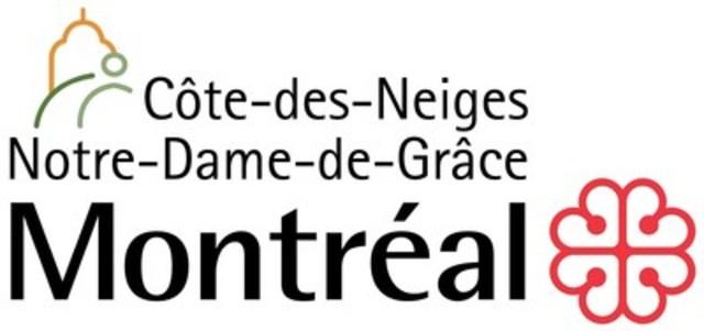 Logo: Arrondissement de Côte-des-Neiges–Notre-Dame-de-Grâce (CNW Group/Ville de Montréal - Arrondissement de Côte-des-Neiges - Notre-Dame-de-Grâce)