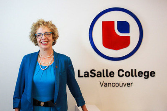 Robin Hemmingsen has been appointed President of LaSalle College Vancouver, a member of the LCI Education network. (CNW Group/LCI Education network)