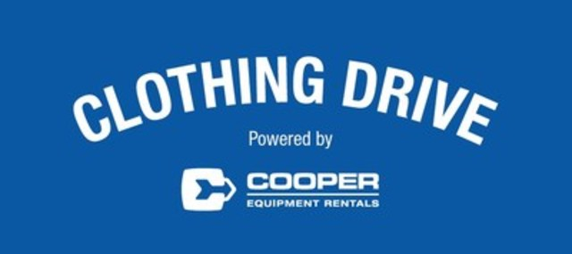 Annual Winter Clothing Drive Powered by Cooper begins (CNW Group/Cooper Equipment Rentals Limited)