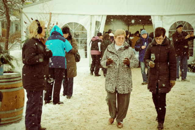 Twenty Valley Winter Winefest Street Festival. (CNW Group/Wine Country Ontario)