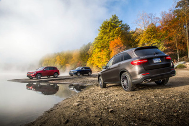 Mercedes-Benz Canada is pleased to report that the GLC 300 4MATIC luxury midsize SUV has earned top honours at the Automobile Journalists Association of Canada (AJAC) 2017 Canadian Car of the Year Awards, in the Best New Premium Utility Vehicle segment. (CNW Group/Mercedes-Benz Canada Inc.)
