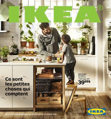 Page couverture du Catalogue IKEA 2016 (Groupe CNW/IKEA Canada)
