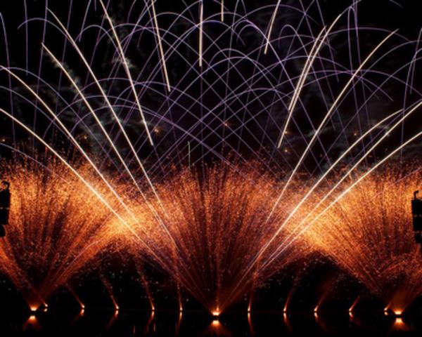 Le meilleur des feux pour le 30e anniversaire. (Groupe CNW/La Ronde)