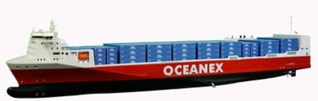 Oceanex Connaigra. (CNW Group/OCEANEX INC.)